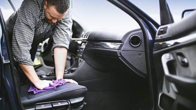 Productos de limpieza coche