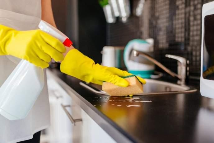 La limpieza en la cocina