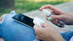 limpiar celular