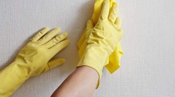 Limpiar manchas paredes