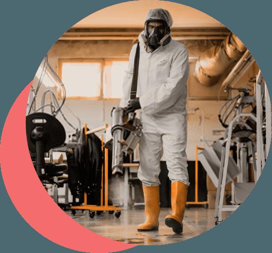 Nebulización con biocidas