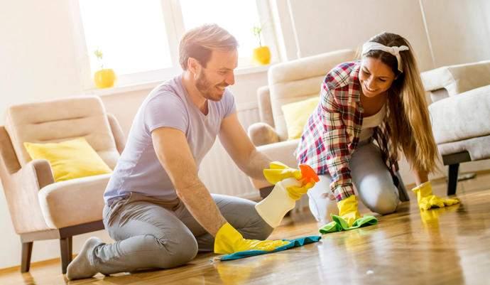 Limpieza y orden en el hogar