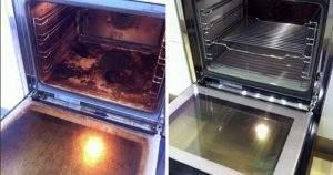Limpiar bandeja horno