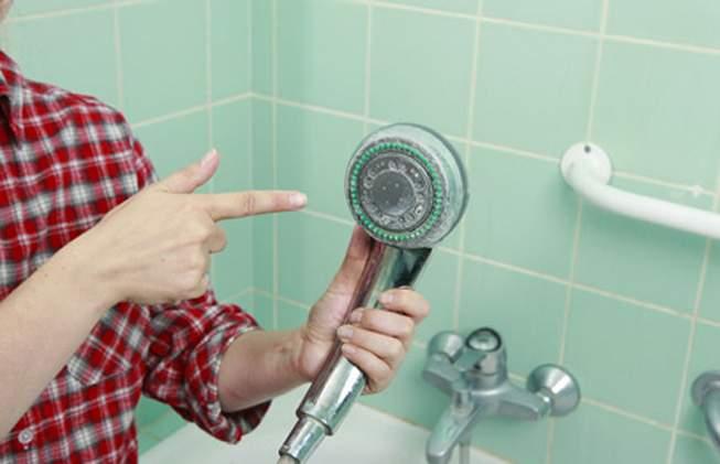 Limpiar ducha