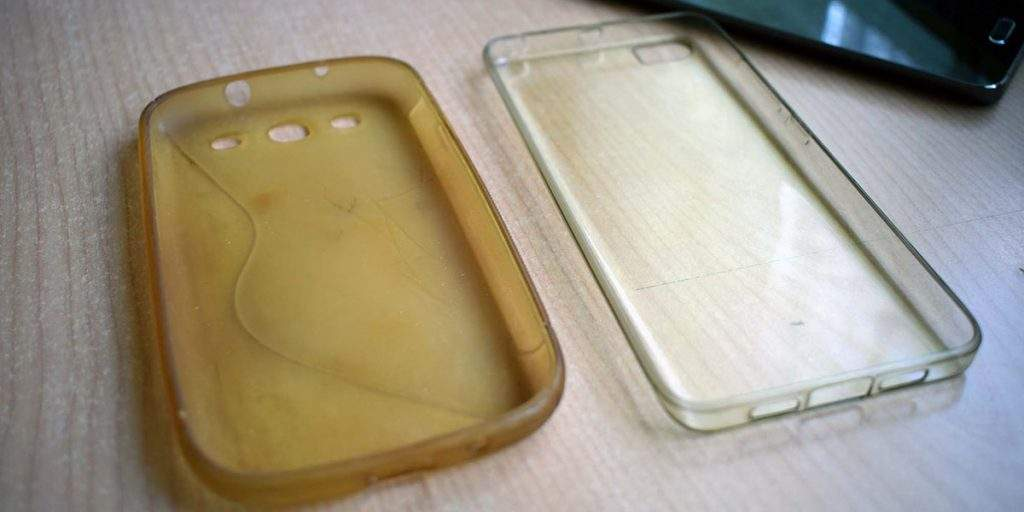 Limpiar funda silicona