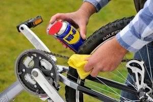 Limpiar y engrasar cadena bici
