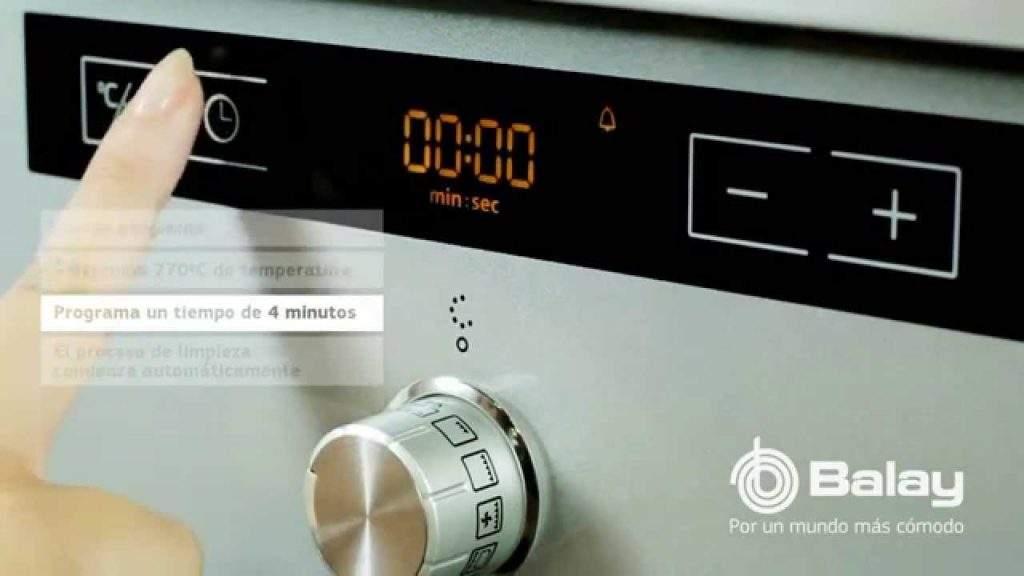 Cómo limpiar horno Balay