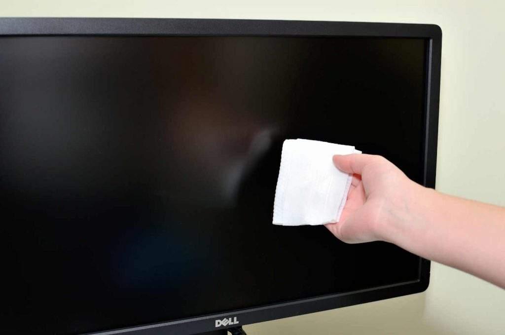 Cómo limpiar pantalla ordenador