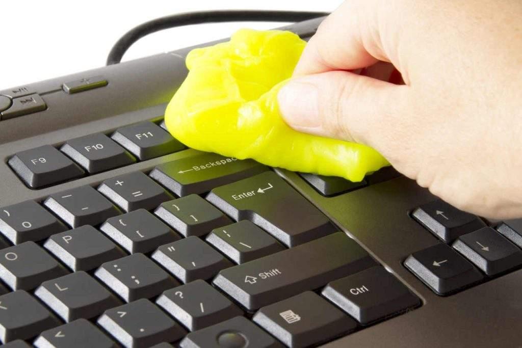 Cómo limpiar teclado