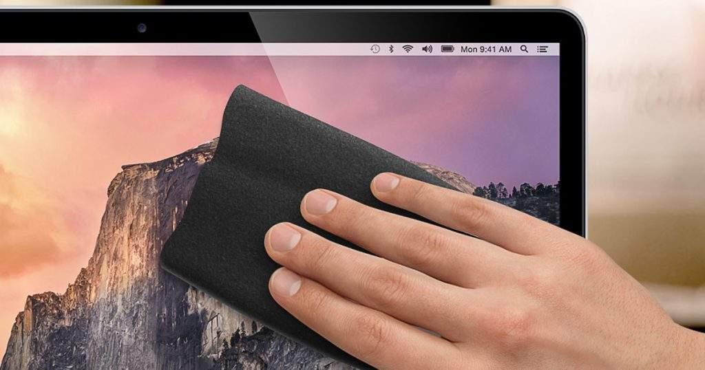 Cómo limpiar pantalla Mac