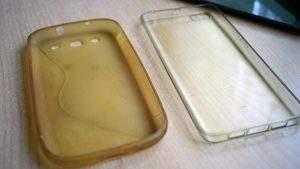 Cómo limpiar una funda transparente