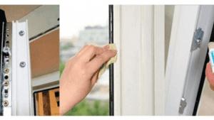 Cómo limpiar ventanas de PVC