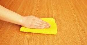 Cómo limpiar y desinfectar la madera