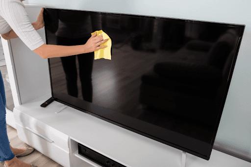 Cómo limpiar tv 4k