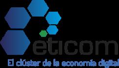 logo eticom el cluster de la economia digital